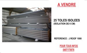 ANNONCE TOLES ISOLEES 6 CM