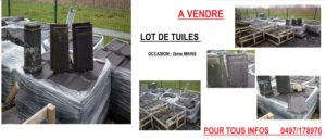 ANNONCE TUILES