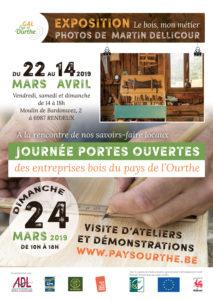 Affiche JPO- Expo bois